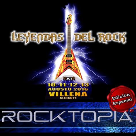 ROCKTOPIA Especial Leyendas 2016